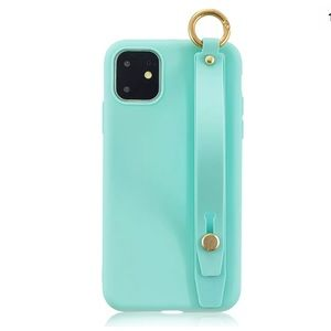 iPhone 11 Mint soft silicone strap anti-shock case